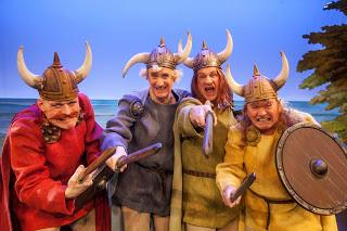Vikingerne der er stået i land på Lolland, i stedet for Holland.