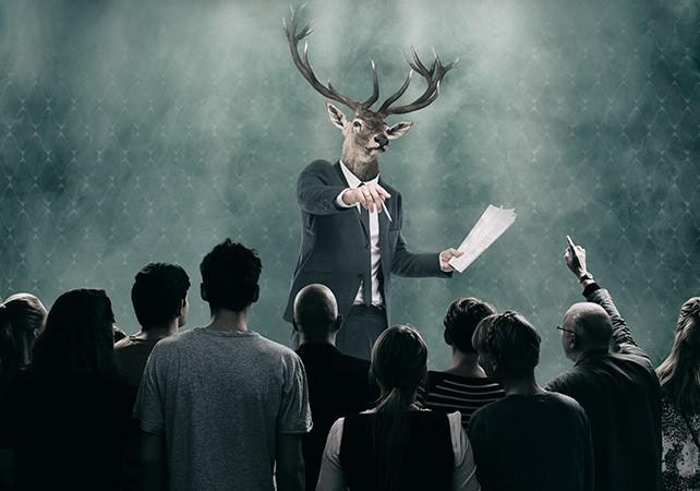 Teaterblik: Dramatikerne venter på dig, 16 READINGS, Svalegangen