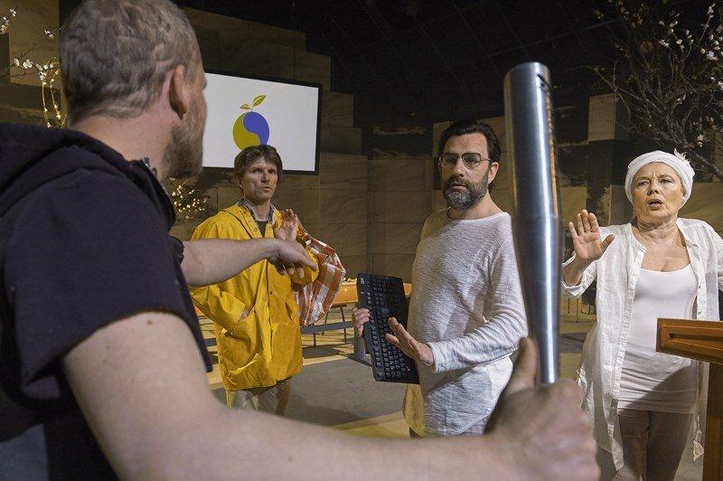 Anmeldelse, Den dag en raket…, Aalborg Teater