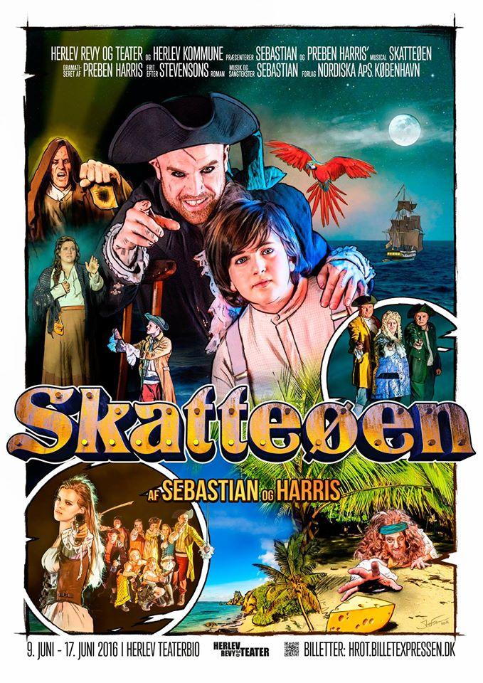 Anmeldelse: Skatteøen, Herlev Revy og Teater