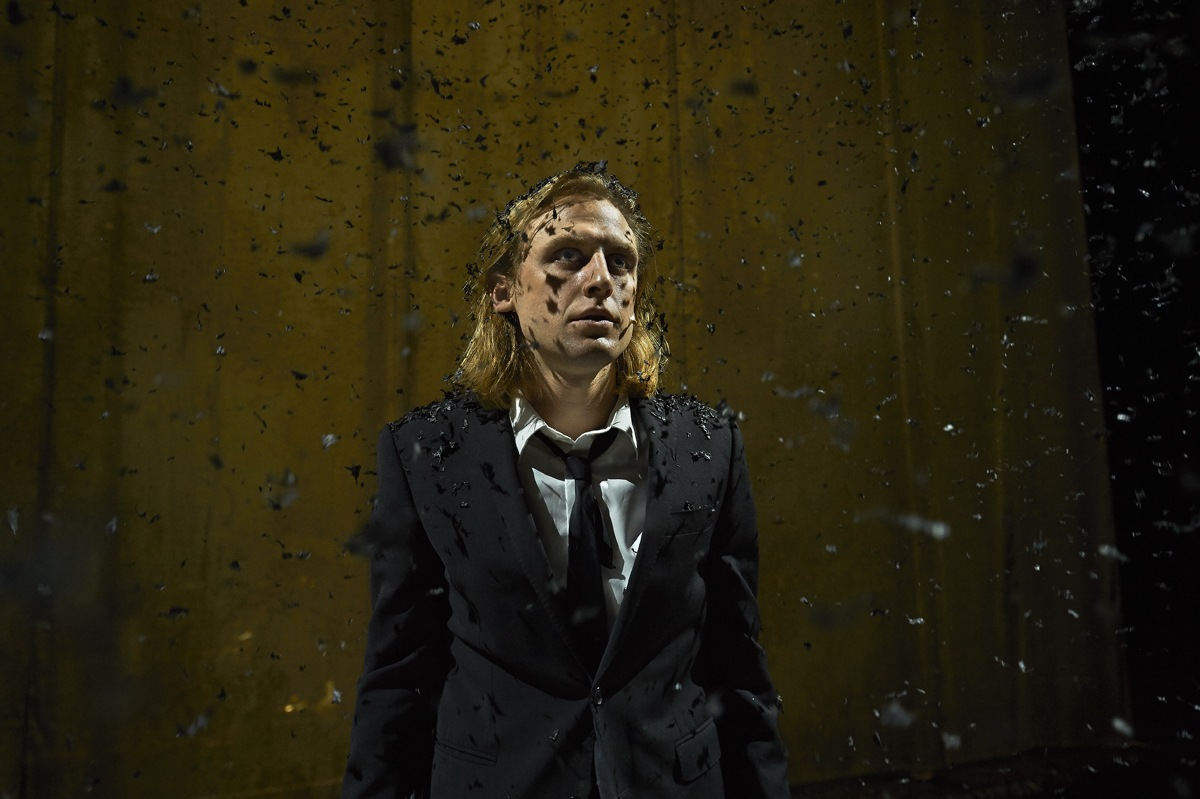 Patrick Bauritcher som Hamlet Foto: Allan Toft