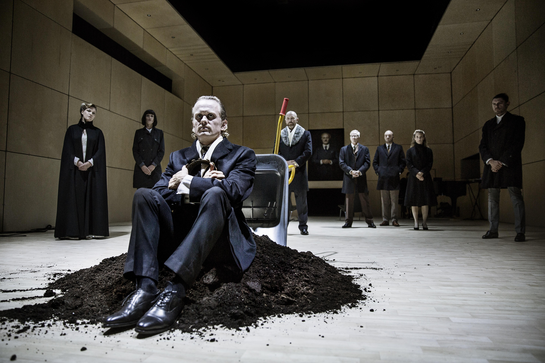 Morten Brovn som Hamlet, Odense Foto: Emilia Therese