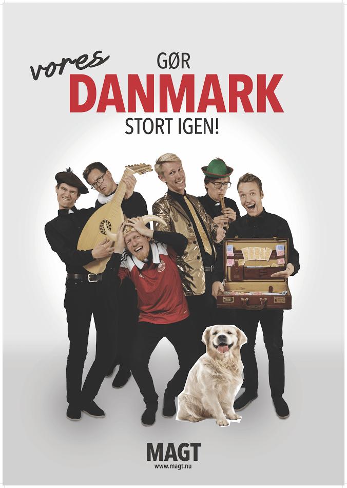 Anmeldelse: MAGT – Gør Danmark stort igen, Hofteatret (MAGT)