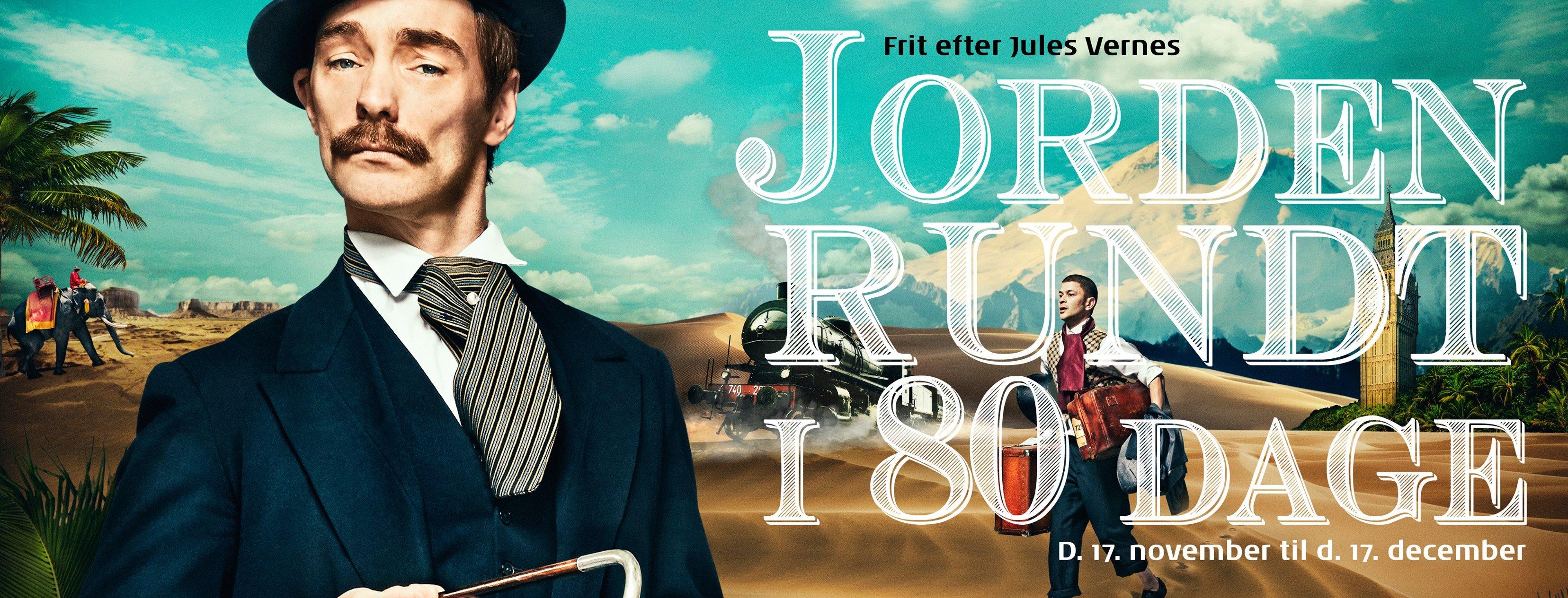 Anmeldelse: Jorden rundt i 80 dage, Himmerlands Teater