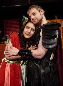 Odysseus, teater, glad teater