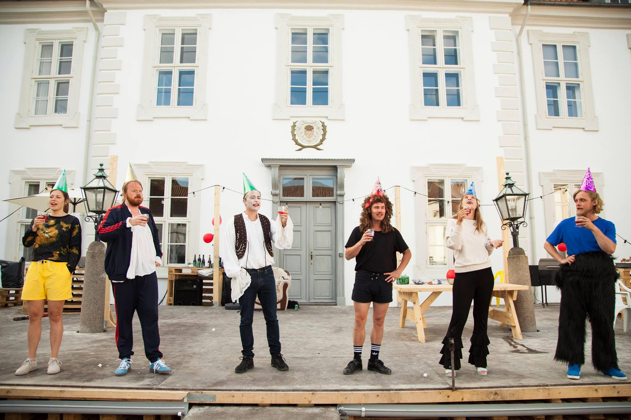 Anmeldelse: Moliére – on the rocks, Teatret Slotsgården