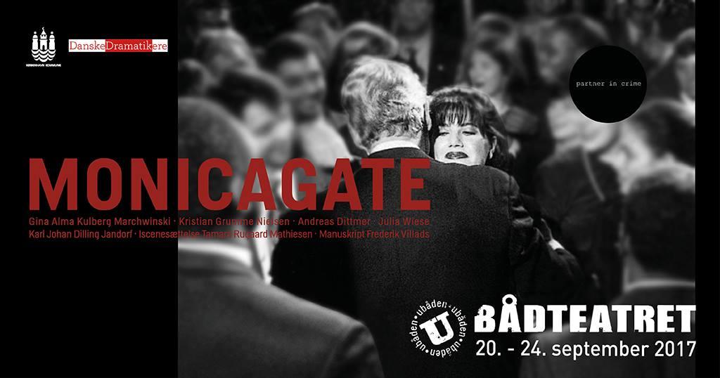 Anmeldelse: Monicagate, Bådteatret (Teater Partner In Crime)