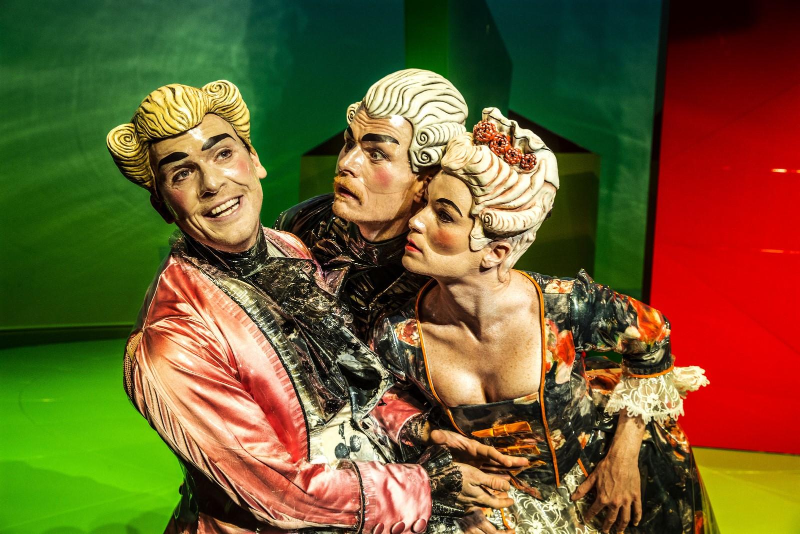 Anmeldelse Maskerade Det Kongelige Teater Ungt Teaterblod
