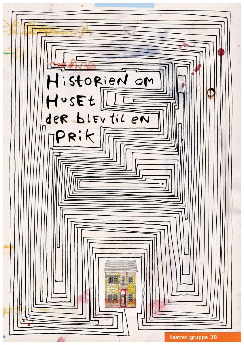 Anmeldelse: Historien om Huset der blev til en prik, Teatret Gruppe 38