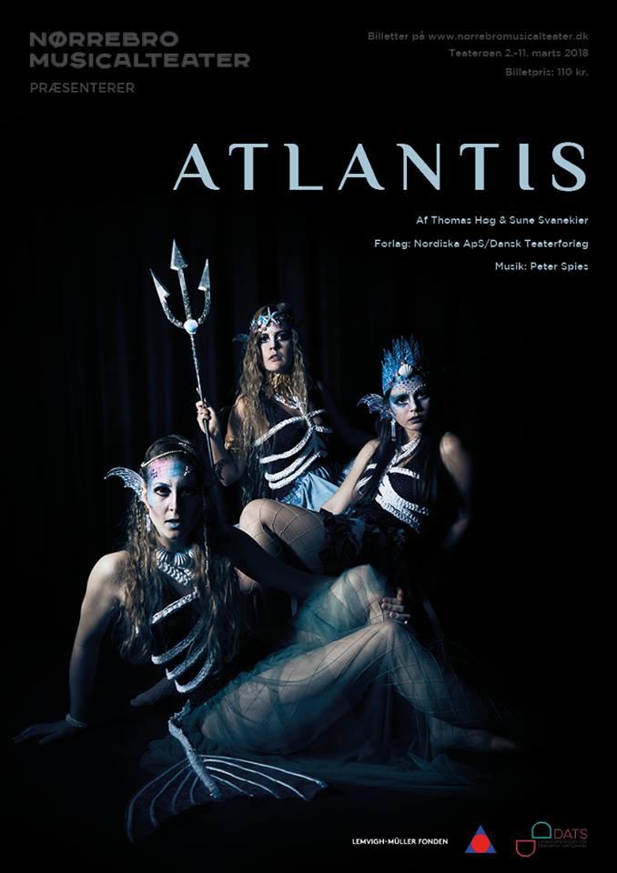Anmeldelse: Atlantis, Teaterøen (Nørrebro Musicalteater)