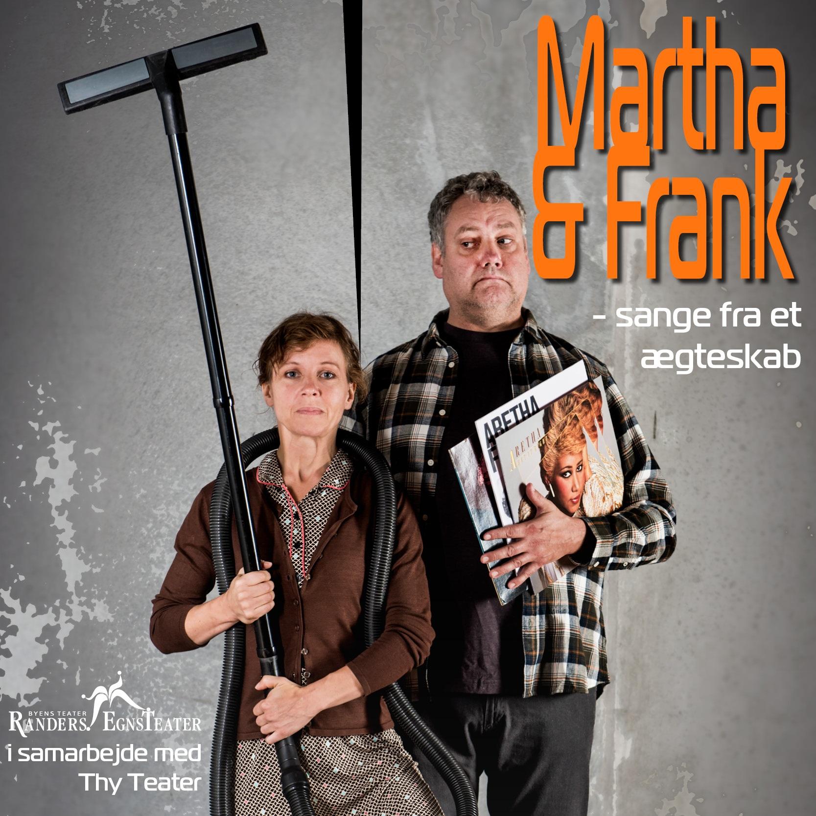 Anmeldelse: Martha & Frank – Sange fra et ægteskab, Teater V (Randers EgnsTeater i samarbejde med Thy Teater)