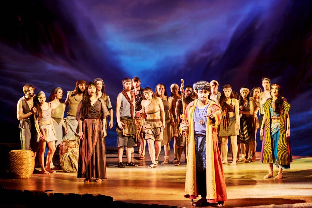 Anmeldelse: Prinsen af Egypten, Fredericia Teater (DK)