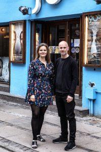 Maja Ries og Per Scheel-Krüger  Foto: Brian Berg