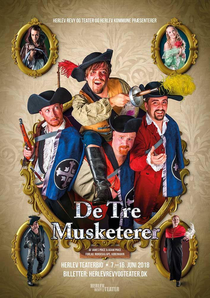 Anmeldelse: De tre musketerer, Herlev Revy og Teater