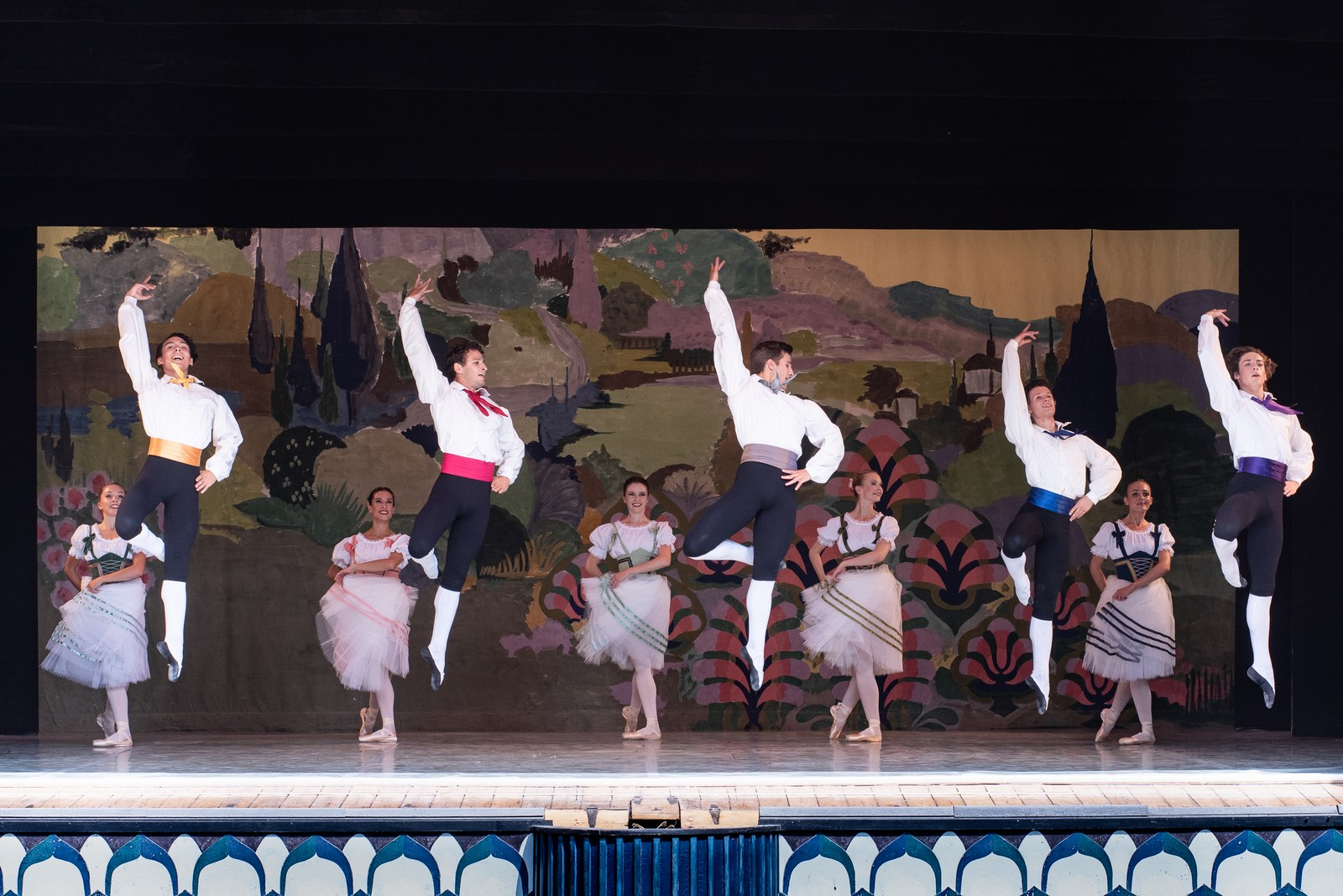 Anmeldelse: Bournonville-aften, Tivoli, Tivoli Ballet Teater