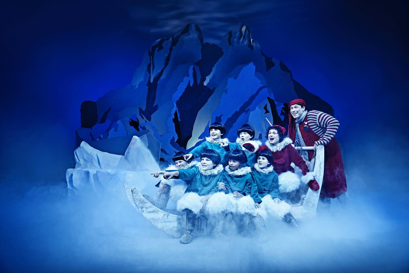 Anmeldelse: Nissebanden i Julemandens land, Odense Teater