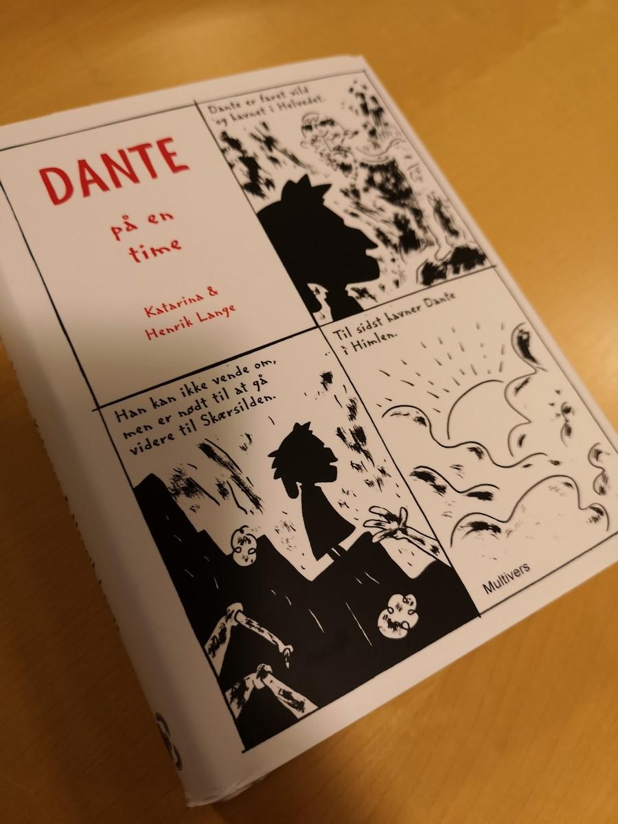 Anmeldelse (bog): Katarina og Henrik Lange: Dante på en time