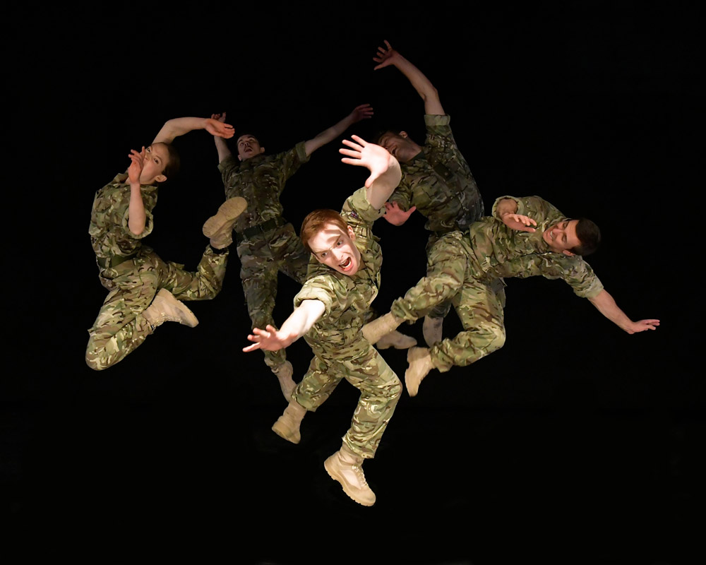 Anmeldelse: 5 Soldiers – The body is the frontline, Baltoppen Live (Rosie Kay Dance Company)