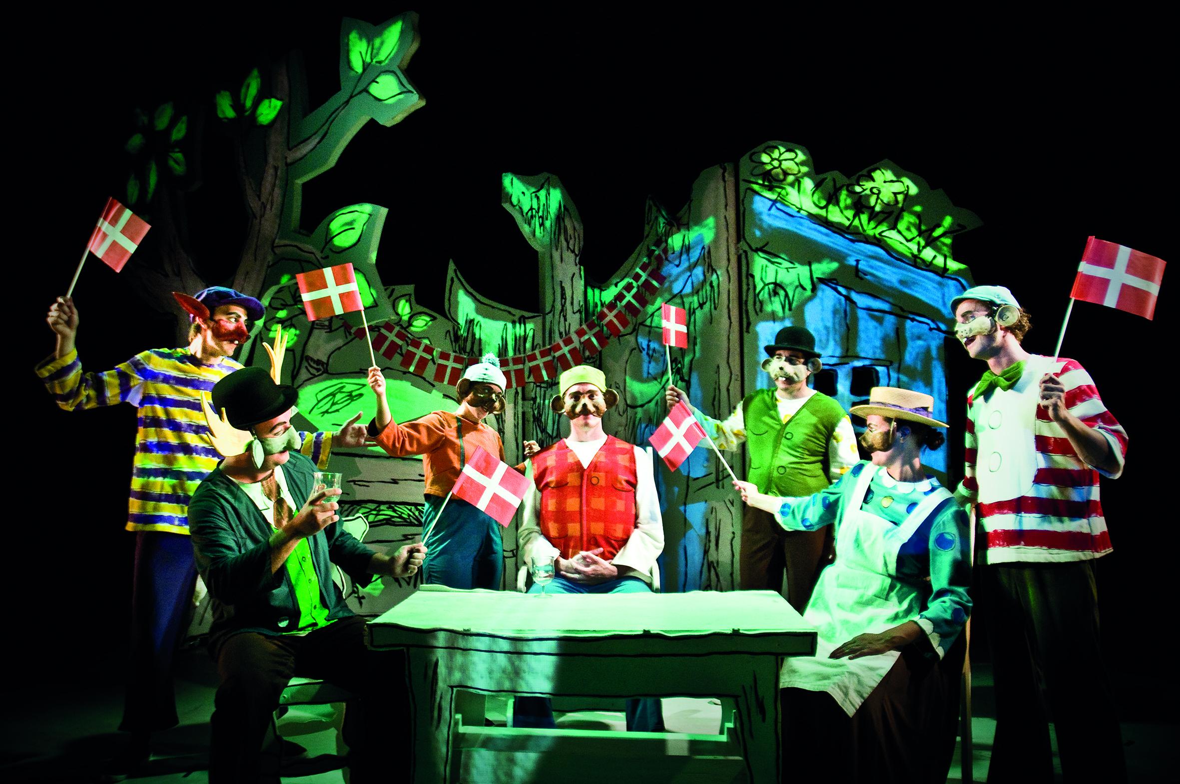 Anmeldelse: Dyrene i Hakkebakkeskoven, Tivoli (Teater V og Tivoli)