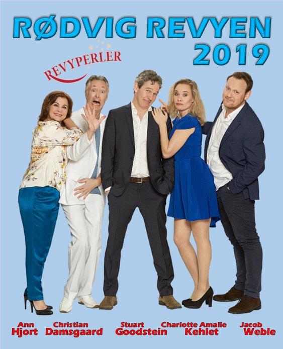 """Anmeldelse: Rødvig Revyen/""""Revyperler"""" 2019, Kulturhuset Harmonien (Rødvig Revyen/""""Revyperler"""")"""