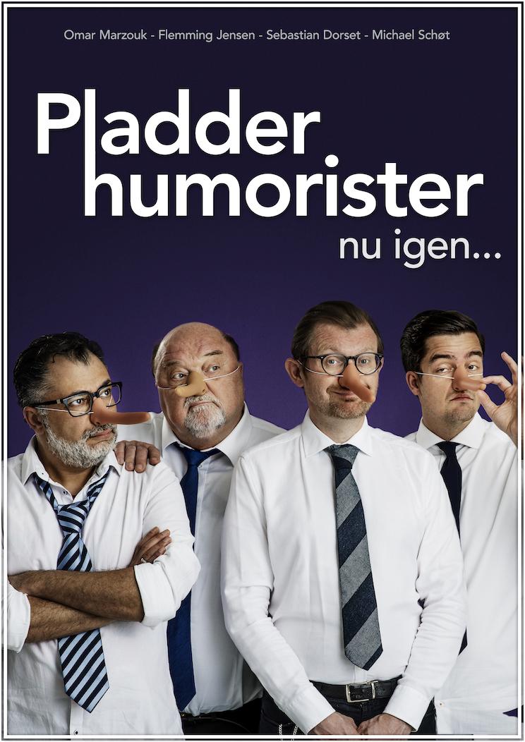 Anmeldelse: Pladderhumoristerne nu igen… – Pladderhumorister IV – Stand-up Revyen 2019, Café Liva