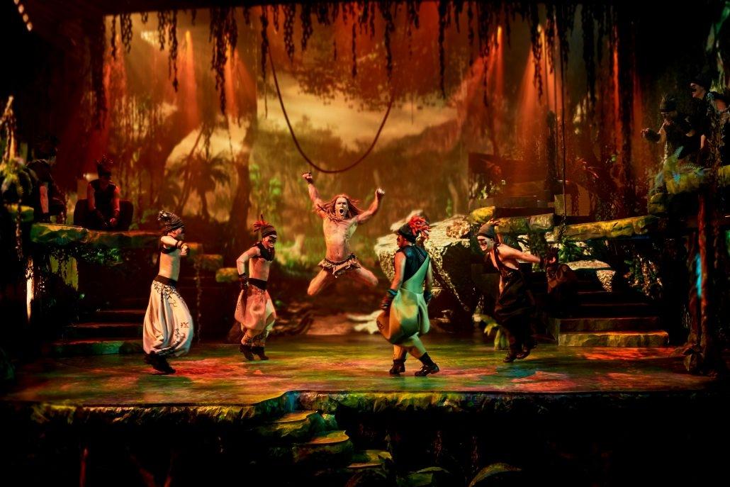 Anmeldelse (re-anmeldelse): Tarzan, Falkoner Salen (Fredericia Teater)