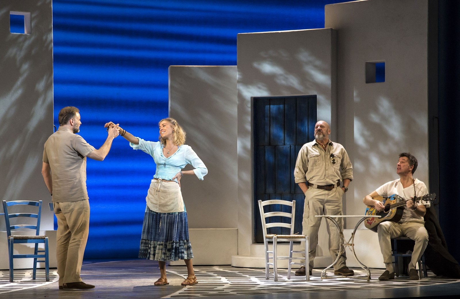 Anmeldelse: Mamma Mia!, Tivoli (PER SE ApS)