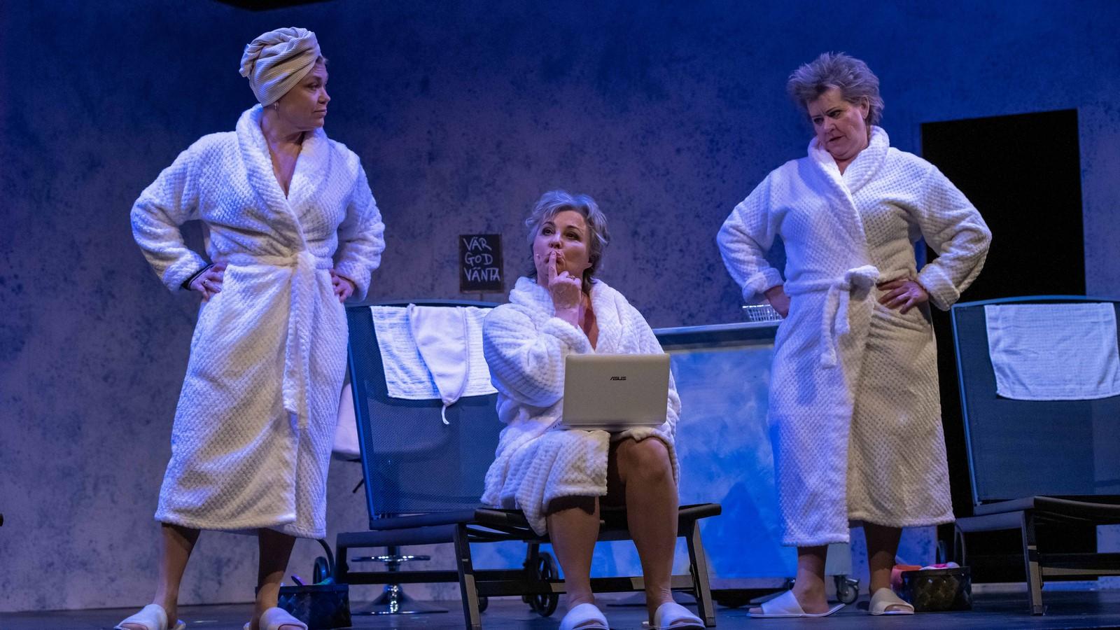 Anmeldelse: Modne damer i morgenkåbe, Musikteatret i Albertslund (Landsteatret)