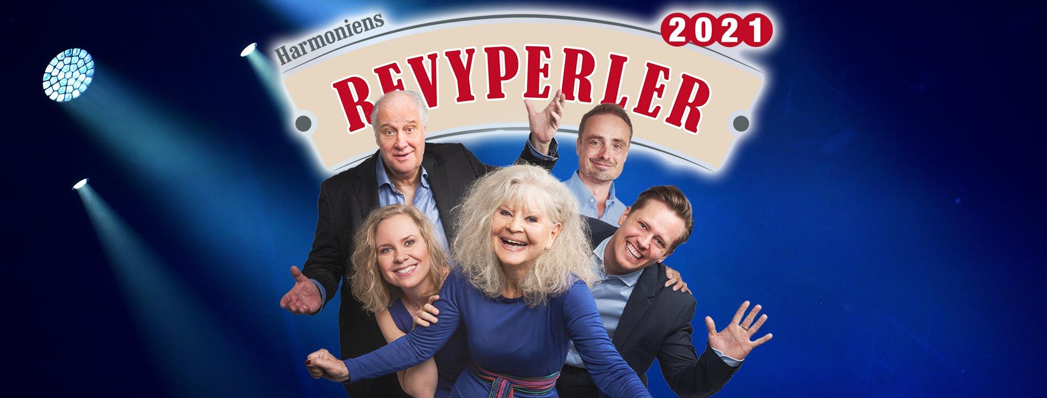 Anmeldelse: Harmoniens Revyperler 2021, Restaurant Harmonien (Harmoniens Revyperler)