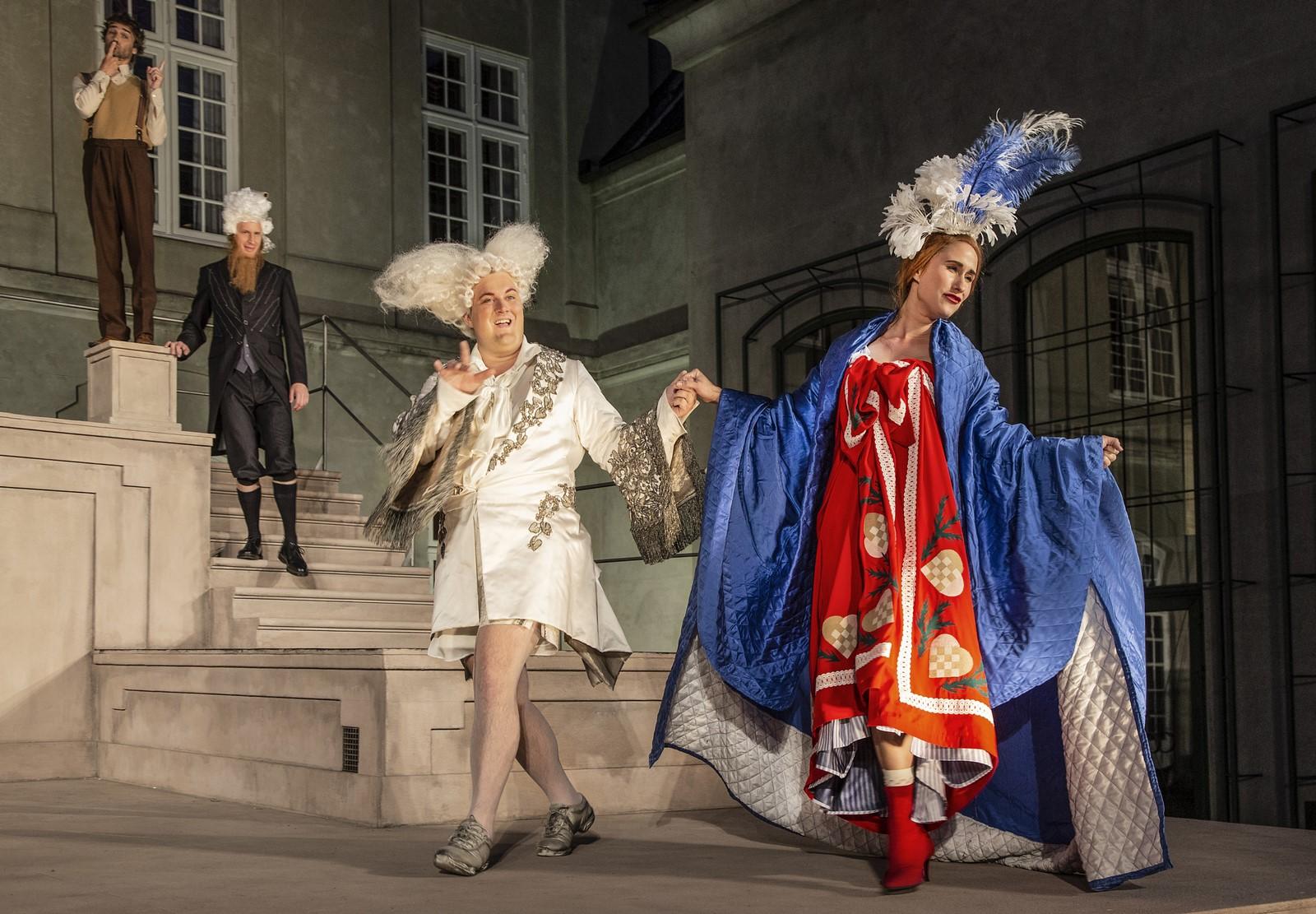 Anmeldelse: Jean de France, Odd Fellow Palæets have (Grønnegårds Teatret)
