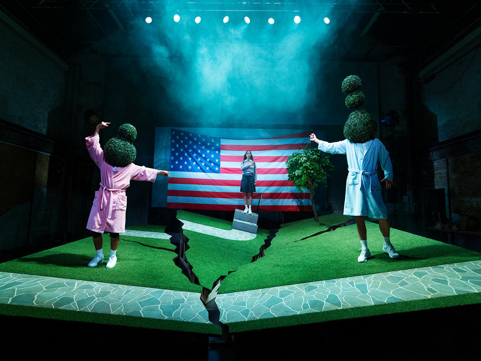 Anmeldelse: Generation 9/11, Betty Nansen Teatret,  Edison (Betty Nansen Teatret og Mungo Park)