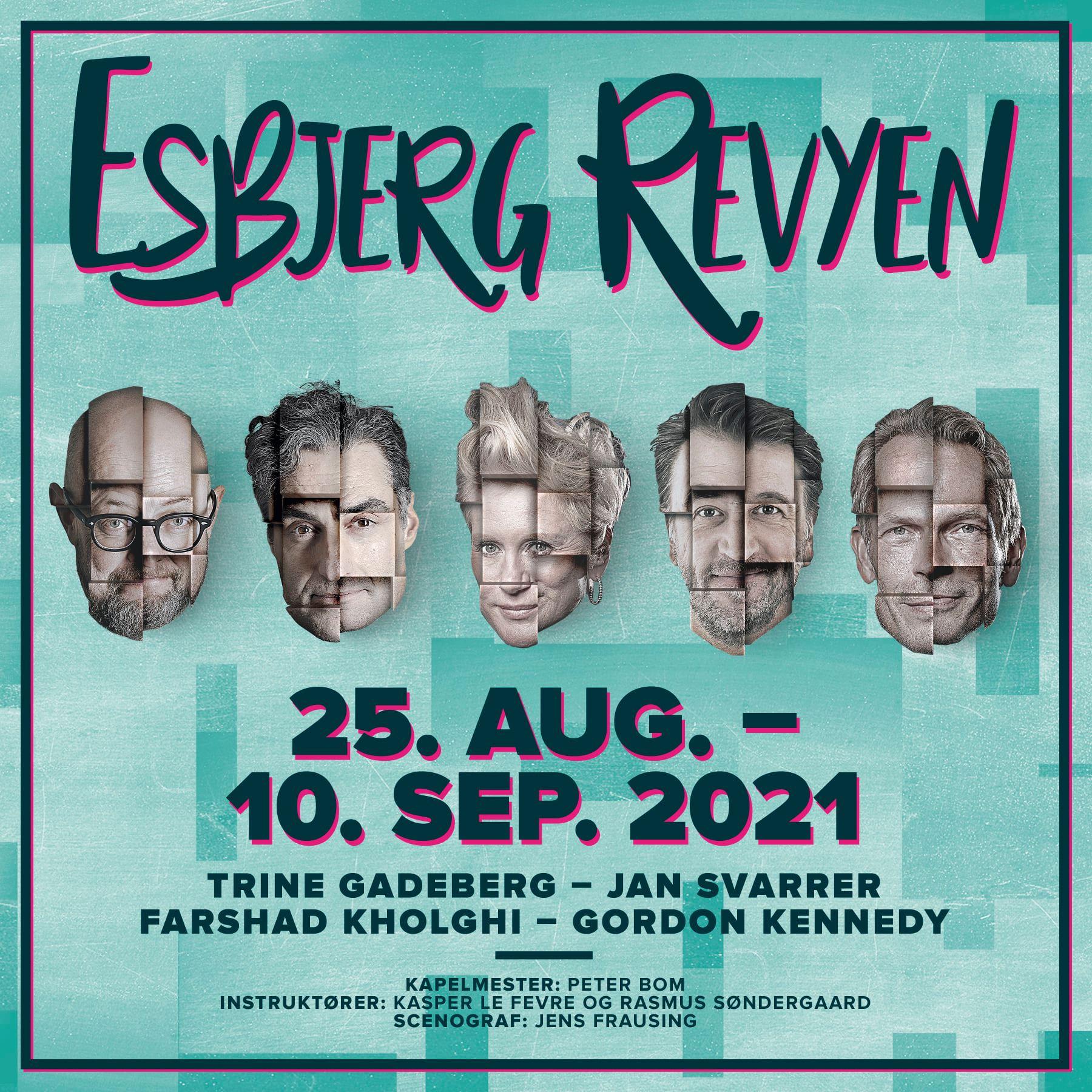Anmeldelse: Esbjerg Revyen 2021, Musikhuset Esbjerg (Esbjerg Revyen)